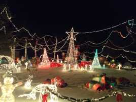 See neighborhood Christmas lights