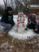 Build a snowman.