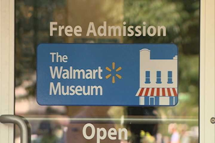 Warm up inside the Walmart Museum
