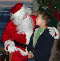Visit with Santa! There are lots of places to see him this year.