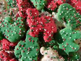 Bake holiday cookies