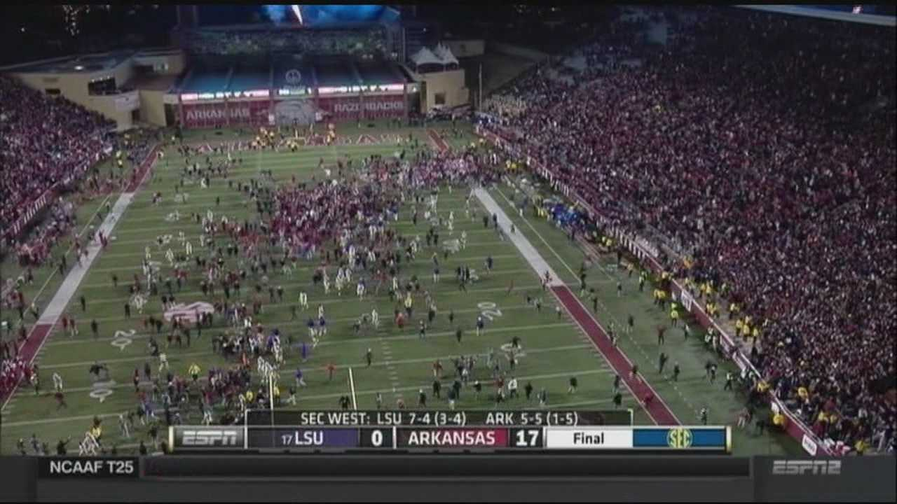 The SEC fined the University of Arkansas $25,000.