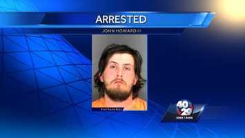 March 2014: Fort Smith police said they arrested John Howard III because he chased a man from a homeless camp with a machete. The victim told police Howard stabbed him with a machete.