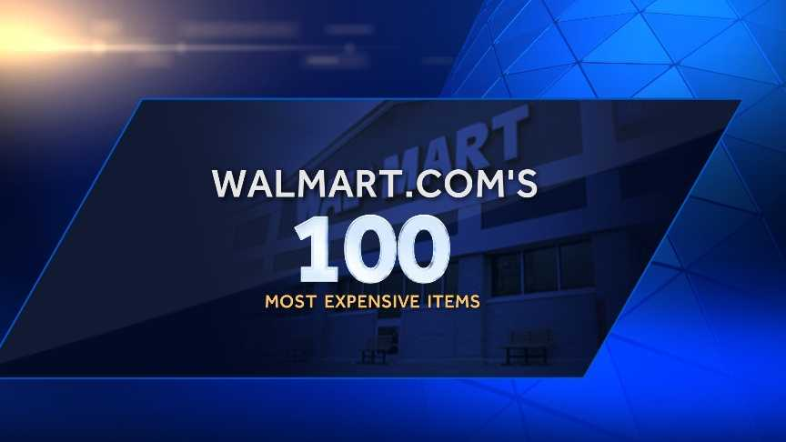 From the luxurious to the unusual, you can find just about any high-end product online. Take a look at some of the 100 most expensive items we found for sale on Walmart.com