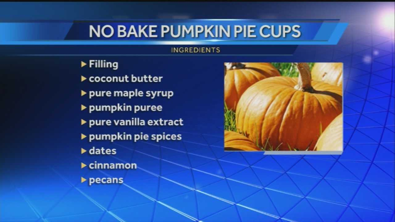40/29's John Paul speaks with Heather from Ozark Natural Foods, who shows us how to make no bake Pumpkin Pie Cups