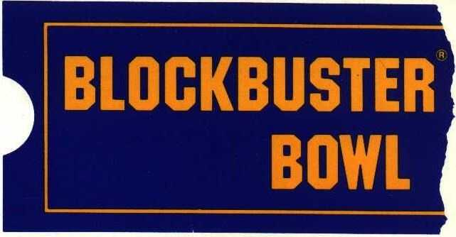 Blockbuster Bowl (1990-1993&#x3B; now the Russell Athletic Bowl)