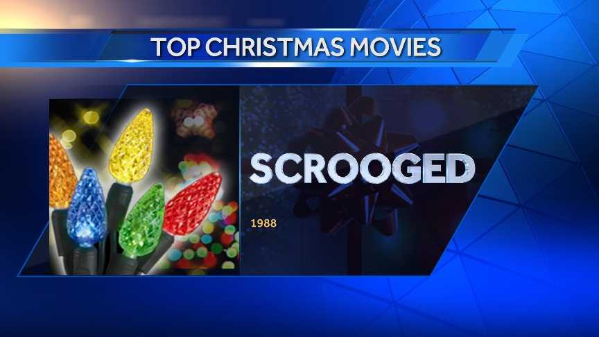 #30 Scrooged (1988) - #15 Top Grossing Christmas Movies from BoxOfficeMojo.com&#x3B; #17 AMC's Top Christmas Movies