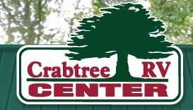 The Crabtree RV Center offers $0 down on RV purchases and 10% off parts.
