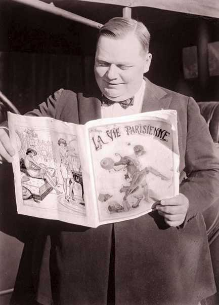 In 1922, actor Fatty Arbuckle was acquitted of the rape and killing of an actress.