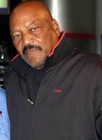 Hall of Fame running back Jim Brown was arrested in 1985 on suspicion of rape and sexual battery. Charges were dropped.
