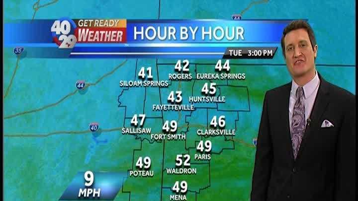 Drew's Weather Webcast, December 1st