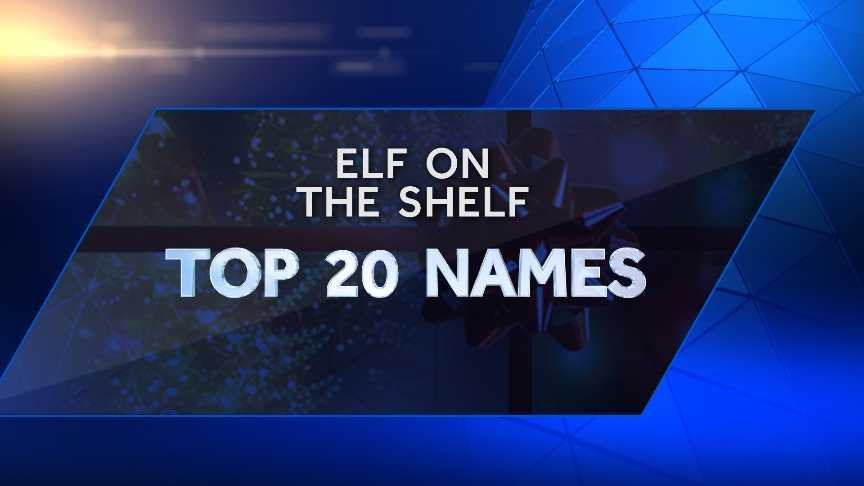 Check out the Top 20 Elf on the Shelf names, according to the Elf on the Shelf website.
