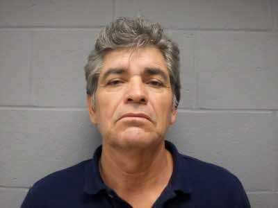 Efrain Alanis-Perea, Sr. was arrested on a charge of theft by receiving.