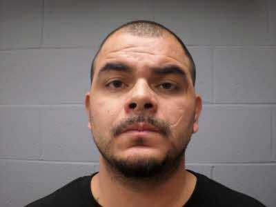 Efrain Alaniz, Jr. was arrested on several drug charges, as well as endangering the welfare of a minor.