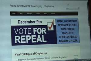 Dec. 2: A group that opposes the civil rights ordinance told 40/29 News it purchased the domain name keepfayettevillefair.com before the pro-civil rights group Keep Fayetteville Fair could.