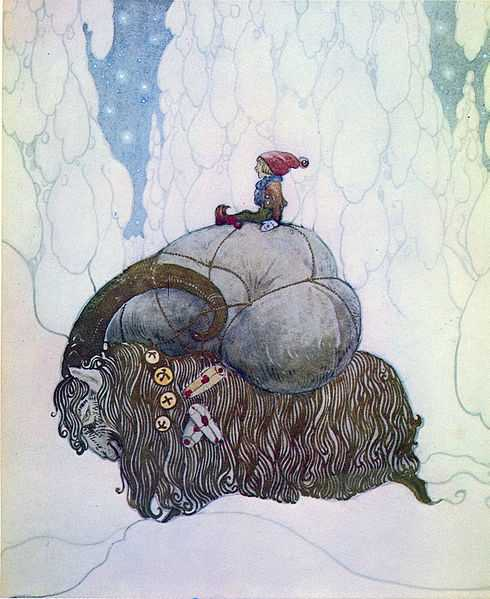 The Yule Goat has brought presents and been part of winter celebrations in northern Europe for centuries.