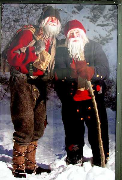 The 13 Yule Lads bring gifts to Icelandic children during the 13 nights before Christmas Eve.