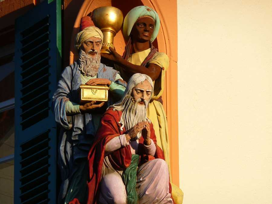The Three Kings bring gifts to children across the world on Epiphany. (Jan. 6)