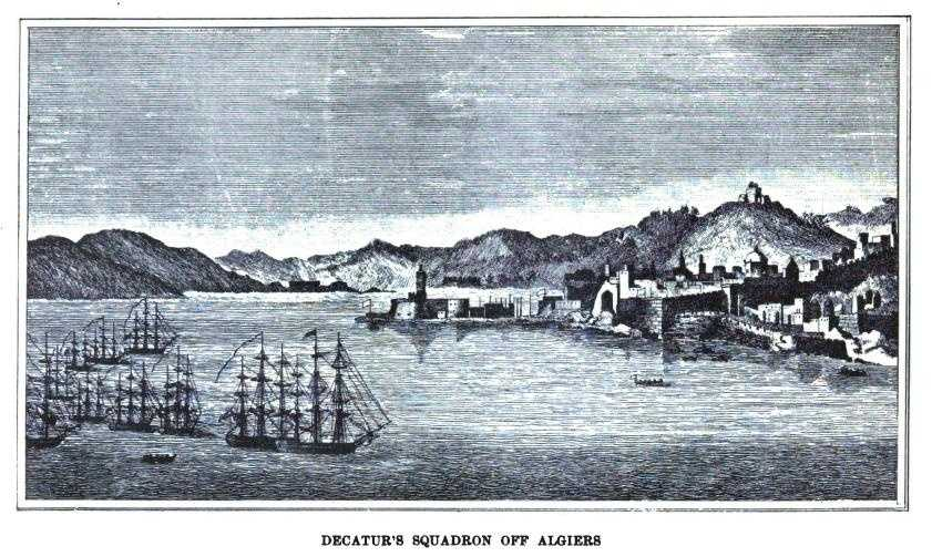 Second Barbary War (1815) against the Ottoman Empire's Regency of Algiers.