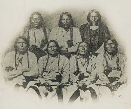 Colorado War (1863-1863) against the Cheyenne and Arapaho.