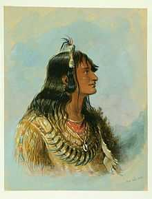 Snake War (1864-1868) against bands of Native Americans who lived near the Snake River. Native American leader Ma-wo-ma is pictured.