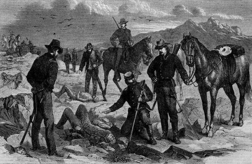 Modoc War (1872-1873) against the Modoc.