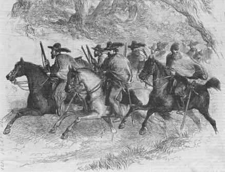 Las Cuevas War (1875) against the Mexican militia.