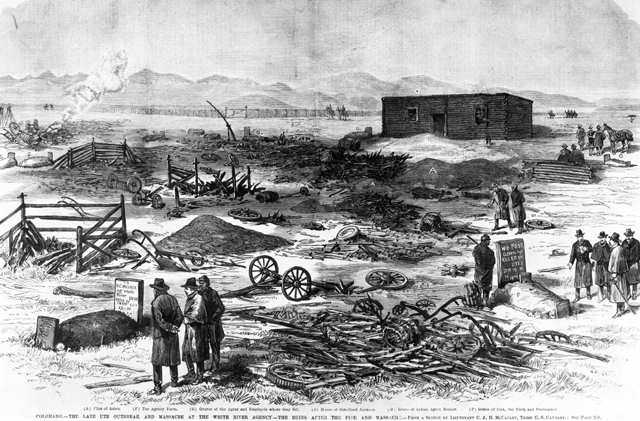 White River War (1879-1880) against the Ute.