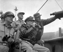 Korean War (1950-1953) against North Korea, China and the Soviet Union.
