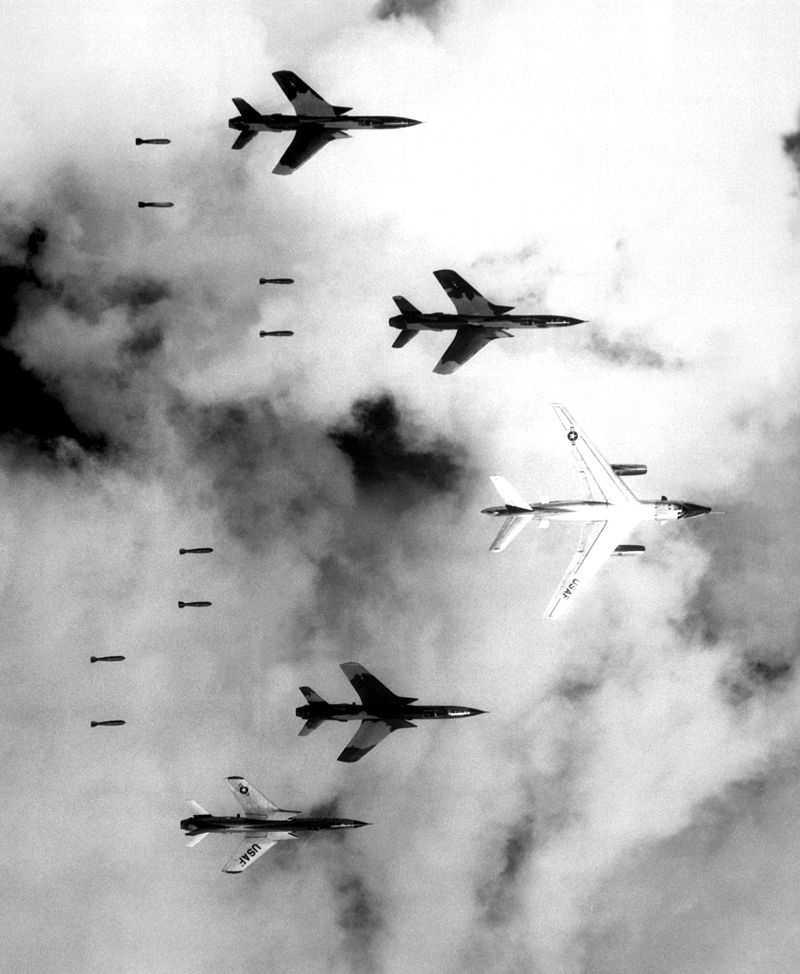 Vietnam War (1955-1973) against North Vietnam and its allies.