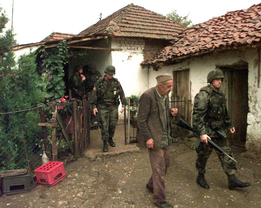 Kosovo War (1998-1999) against the Federal Republic of Yugoslavia.