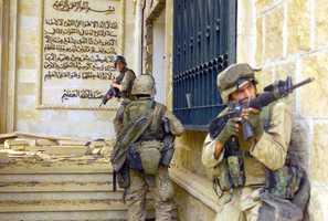 Iraq War (2003-2011) against Iraq, al-Qaeda in Iraq and other groups.