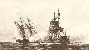 First Barbary War (1801-1805) against the Ottoman Empire's Eyalet of Tripolitania and the Sultanate of Morocco.