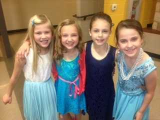 My daughter Ava and her friends dressed to kill for a function at Butterfield Trail Elementary School. They are growing up way too fast!!
