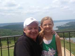 Our family loves to take weekend getaways to Branson, Missouri. This summer we took in the views at Top of the Rock golf course.