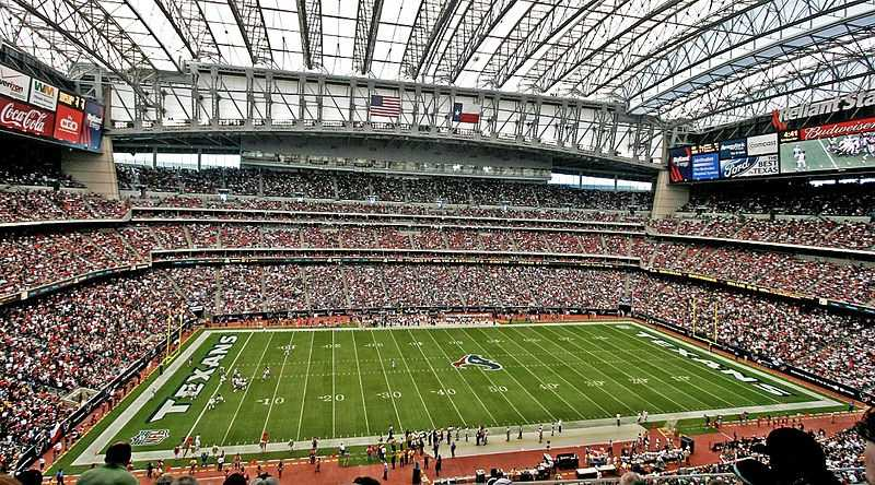 The bowl will be played at NRG Stadium in Texas. It used to be known as Reliant Stadium, and is the current home of the NFL's Houston Texans.