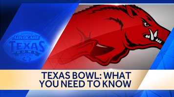 The Razorbacks will play in the Texas Bowl this year. Click through to see what you need to know about the game.