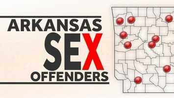 4)Which counties have the most registered sex offenders in Arkansas?A county-by-county breakdown of Arkansas' 10,041 registered sex offenders.