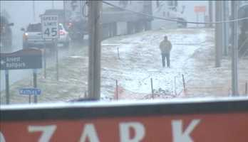 5) RAW VIDEO: Snow in SpringdaleThe snow started coming down hard in Springdale on the afternoon of Sunday, December 16, 2014.
