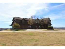 The home is 4,869 square feet home has 4 bedrooms, 2 full baths, 2 half baths.
