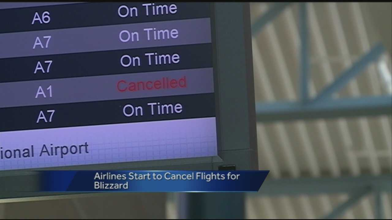 Travellers flying in and out of Northwest Arkansas Regional Airport are watching how winter weather impacts flights nationwide.