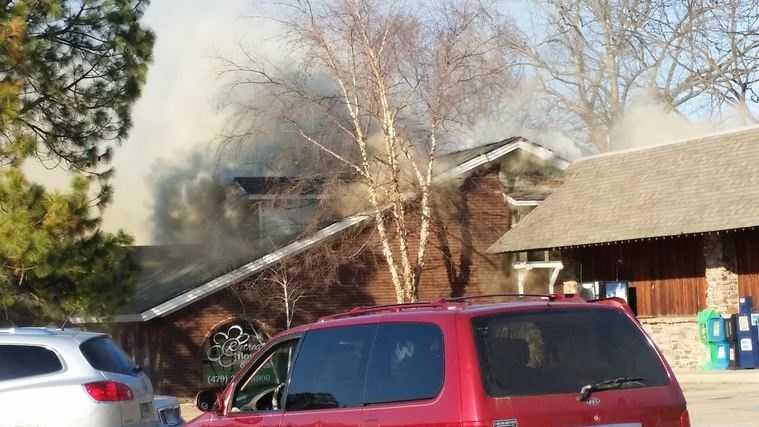 Crews responding to flower shop fire in siloam springs mightylinksfo