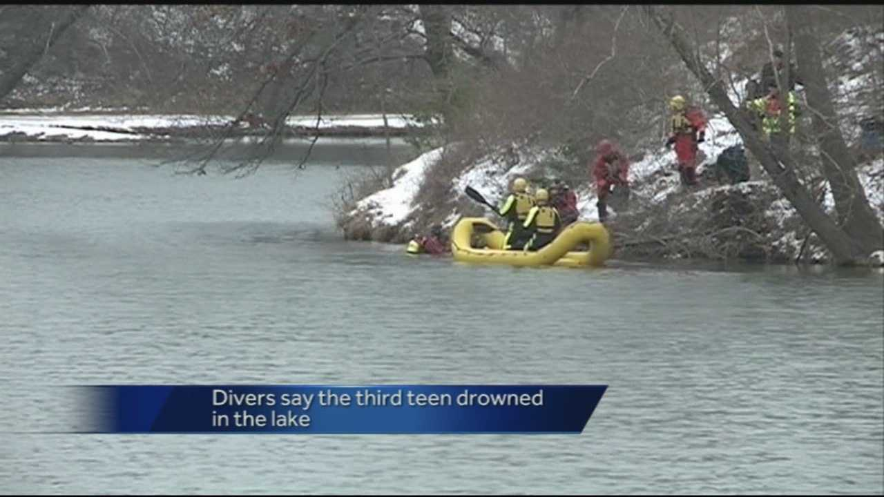 Two teens survive after Jeep crashed into Lake Atalanta.