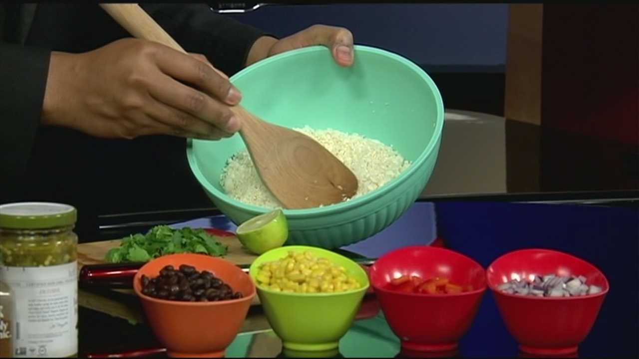 40/29 News Sunrise has a new recipe this week. Watch how you can make cauliflower taste like rice in this week's dish!