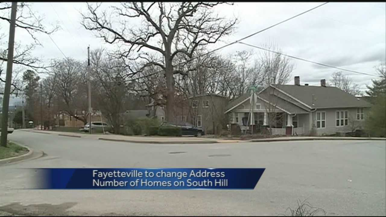 The city of Fayetteville will attempt to reduce confusion by reorganizing home numbers that are not in chronological order. 40/29's Jonathan Rozelle reports.