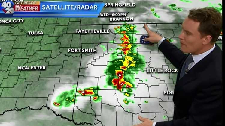 Meteorologist Darby Bybee shows us when parts of our area could see more severe weather...