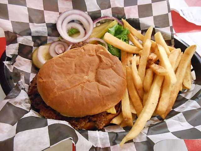 Located in the heart of the Bentonville Square, The Station Cafe burgers and sandwiches are sure to satisfy! They have been voted #1 Steakburger in NWA!