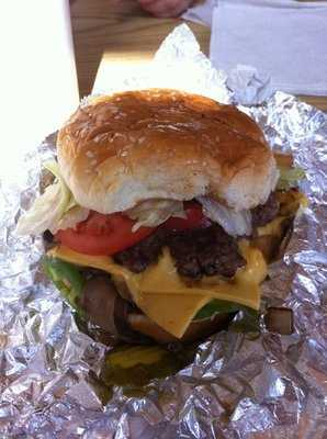 You can't ever go wrong with a burger and fries combo from 5 Guys! They have been creating handcrafted burgers and fries since 1986. 5 Guys has one location in Rogers at Pinnacle Hills and one in Fort Smith.