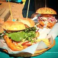 """Natural State Sandwiches """"hometown grub"""" is a Fayetteville food truck located at The Yacht Club (a collection of local vendors.) Their menu changes daily so be sure to follow them on social media to keep up!"""