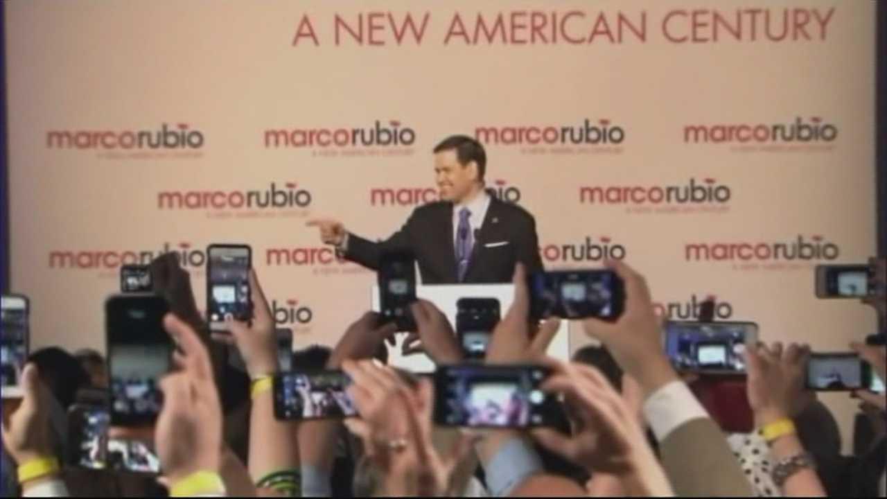 Marco Rubio Announces Bid for White House